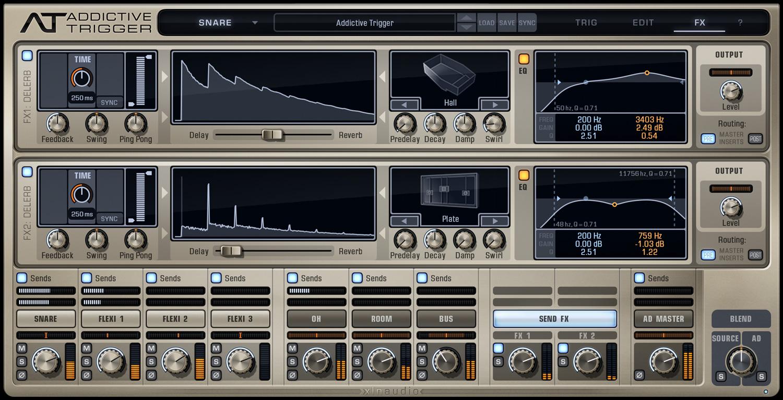 xln audio addictive trigger manual