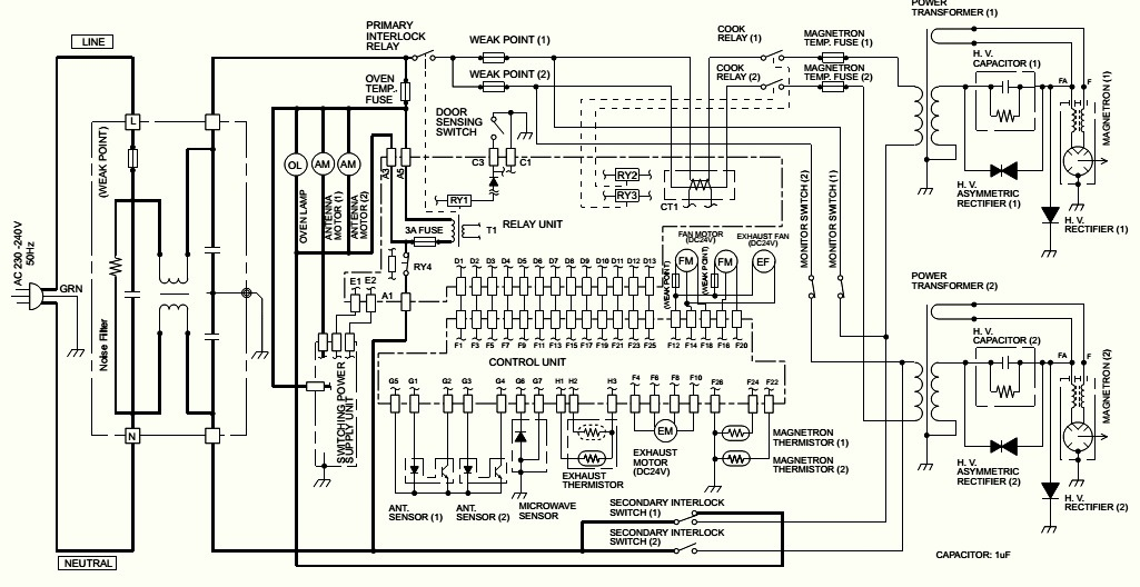 sharp model lc205h6u tv manual