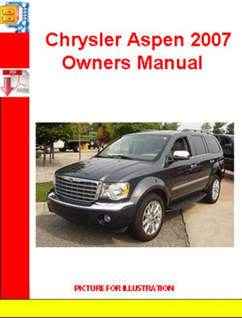 2007 chrysler 300 service manual download