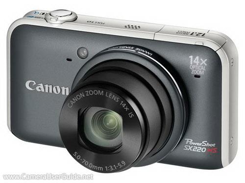 canon powershot sx220 hs manual download