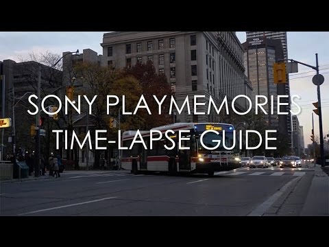 sony time lapse app manual