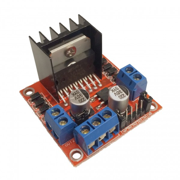 l298 dual h-bridge motor driver manual