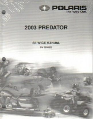 owners manual for 2003 polaris sportsman 500