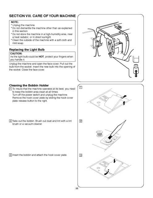 janome pink ribbon sewing machine manual