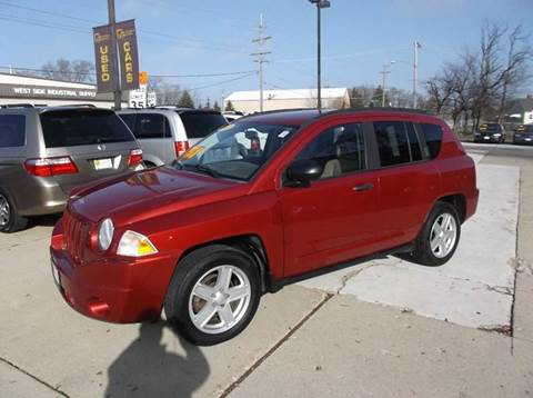 specs 2007 jeep compass manual 2 wheel drive