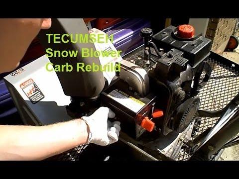 10 hp tecumseh snow king engine manual