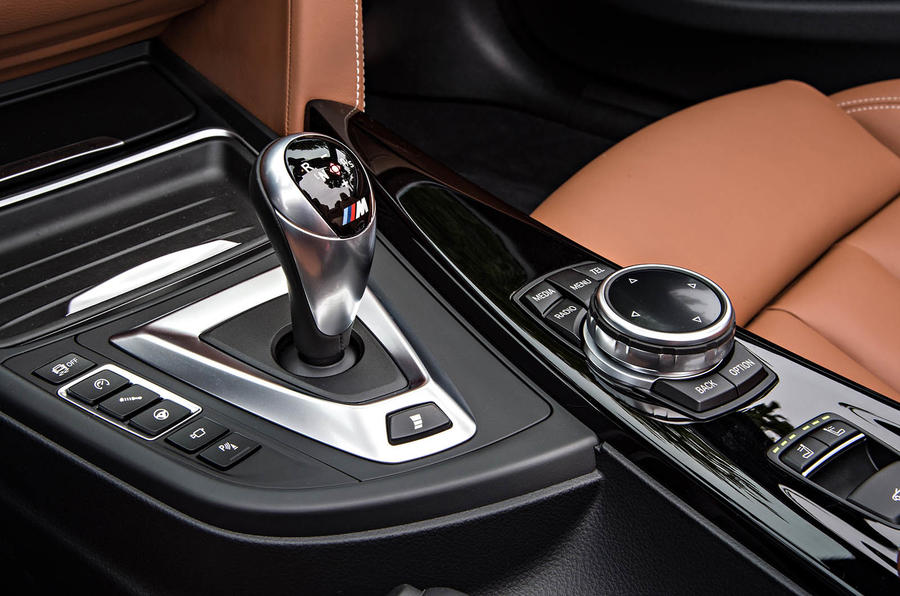 automatic transmission with sports manual option