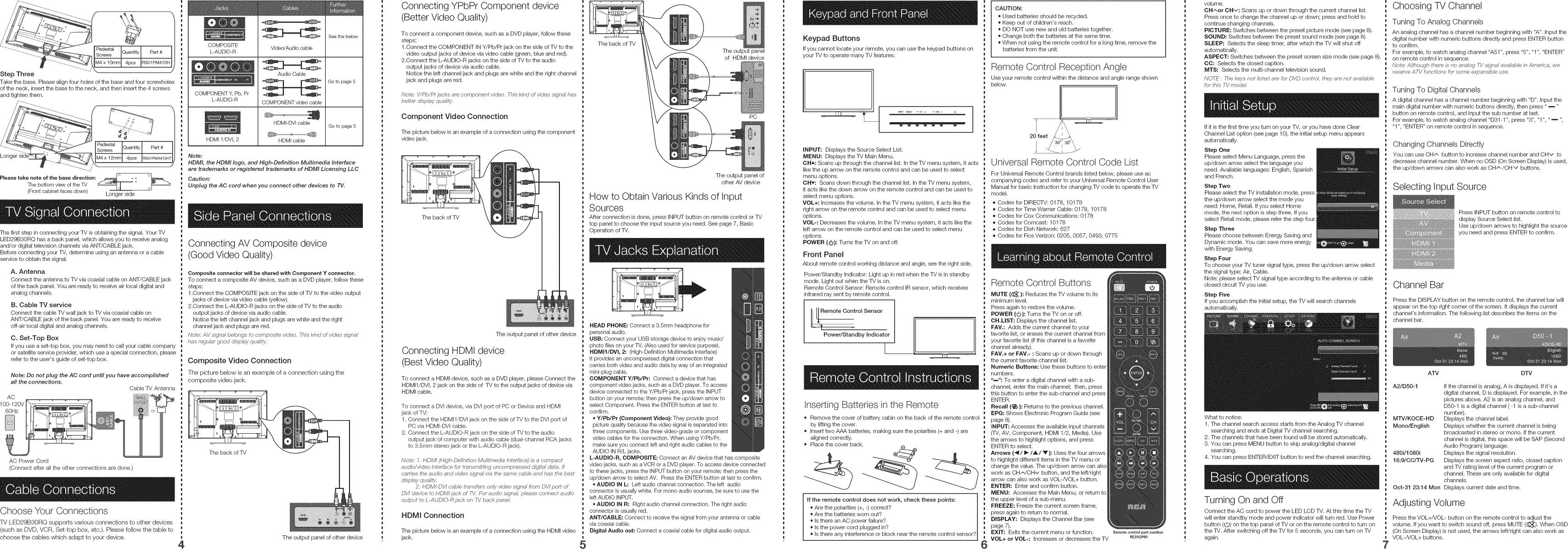 rca lcd tv service manual