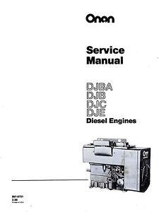 onan generator 940-0751 manual
