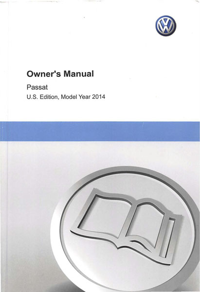 vw cc 2014 owners manual