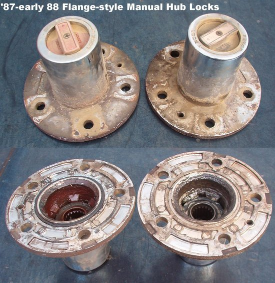 Warn Manual Locking Hubs 2002 Ford F150