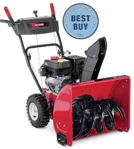 craftsman 88780 21 179cc single-stage snowblower product manual