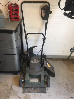 black and decker 13 amp electric mower manual