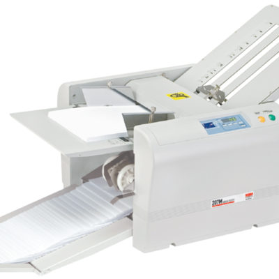 mbm 98m manual tabletop paper folder in toronto ontario