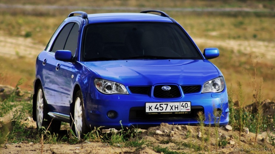 2006 subaru impreza 2.5i manual wagon