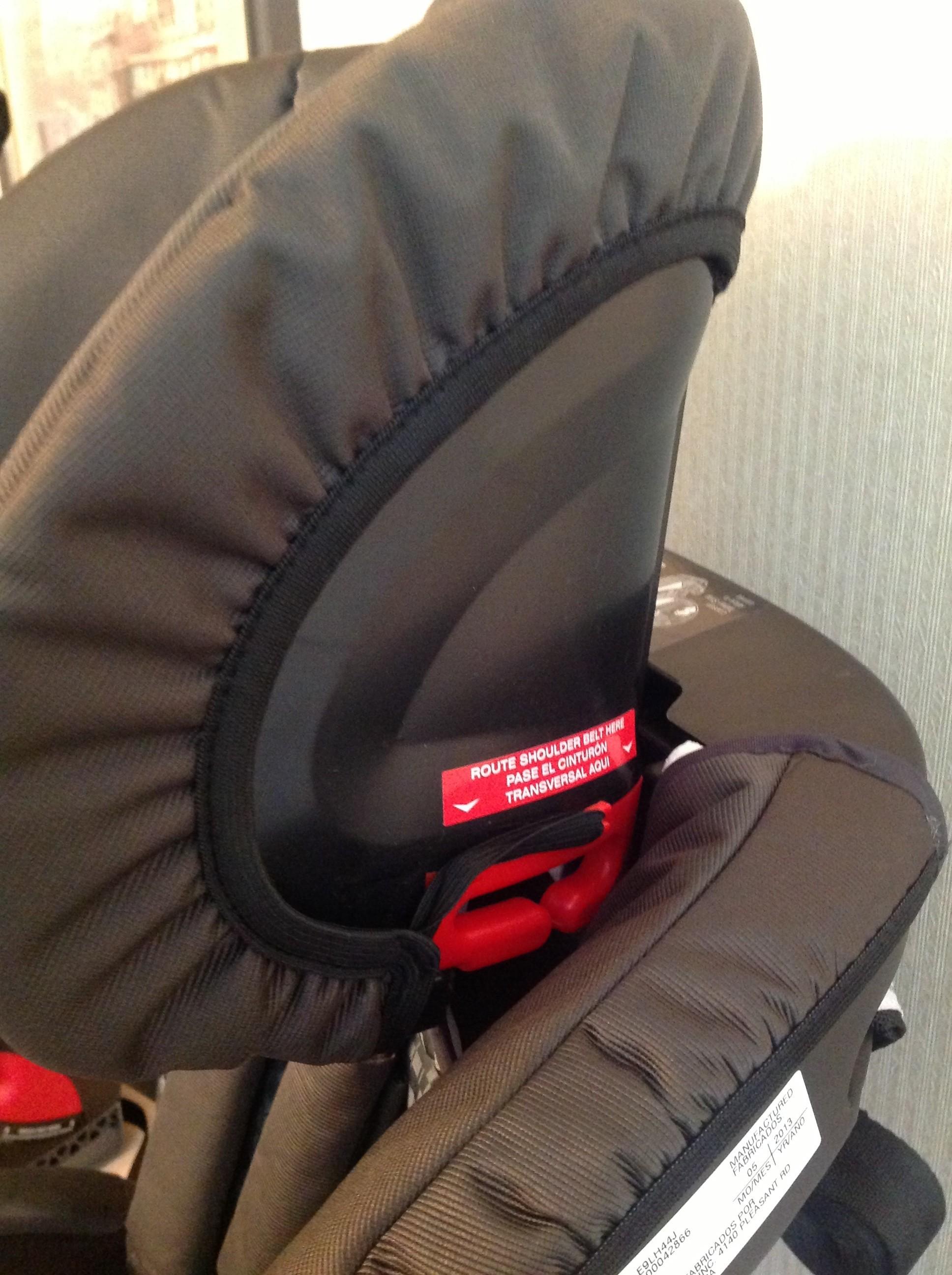 britax parkway booster seat manual