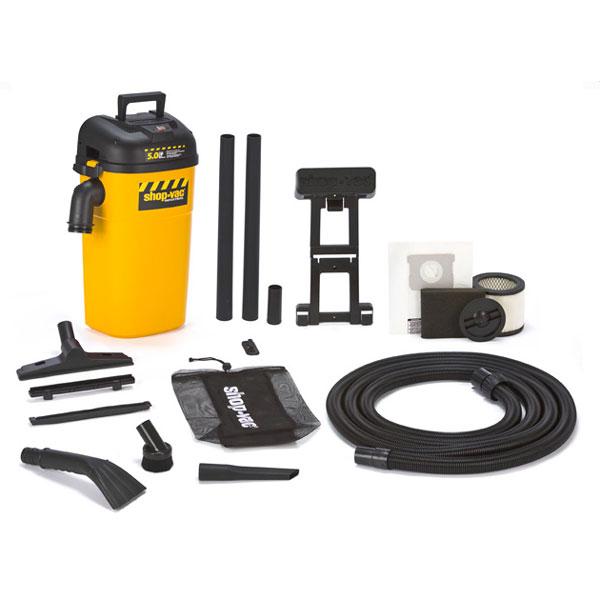 kobalt 5-gallon 5 peak hp shop vacuum manual