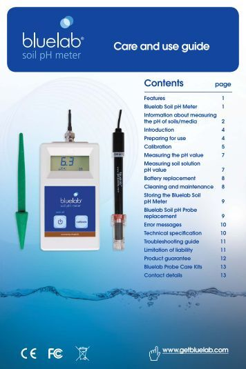 eutech ph meter 510 manual