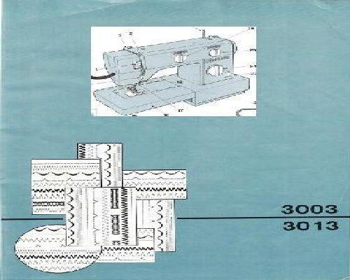 instruction manual for singer 1507