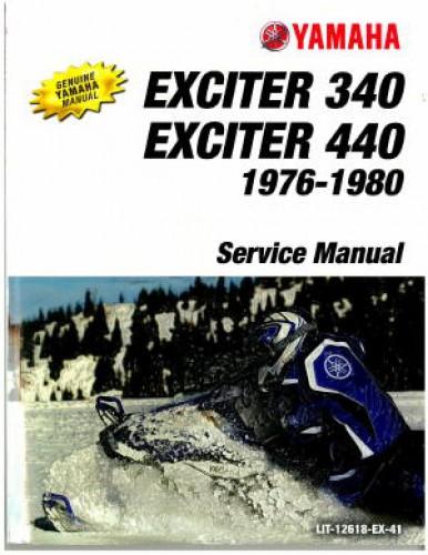 everest 440 1977 service manual