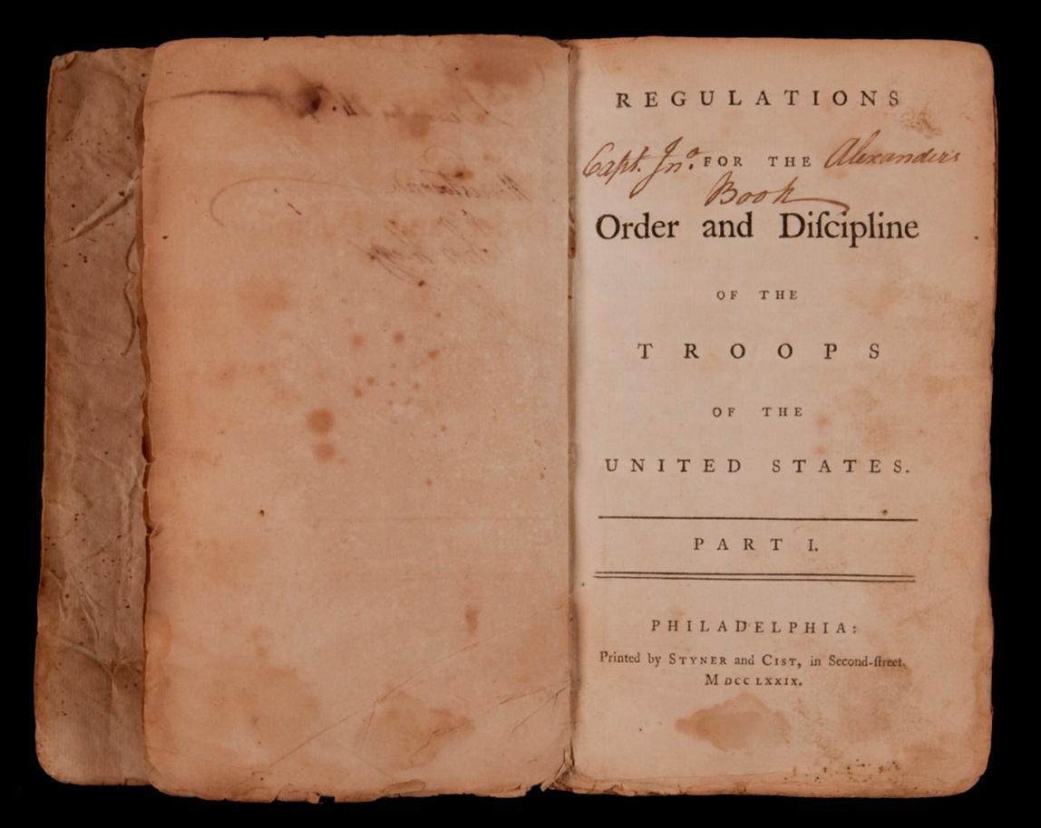 war of 1812 drill manual