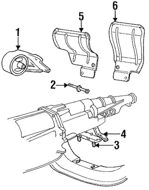 dodge ram automatic vs manual transmission mounts