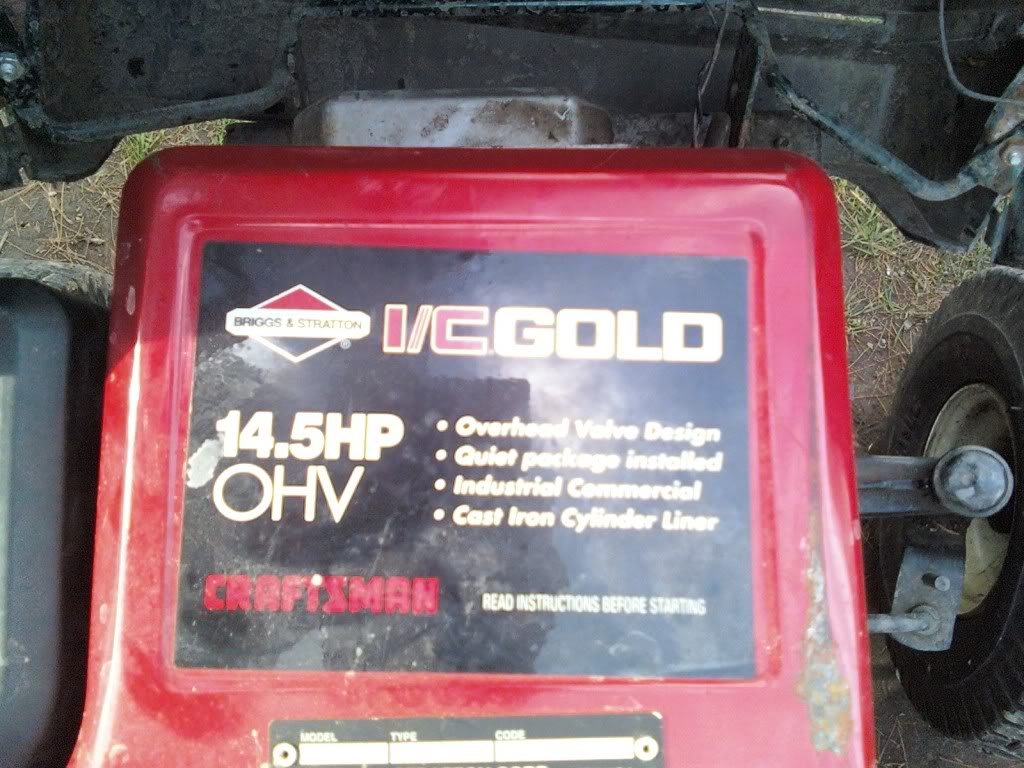 craftsman 14.5 hp ic gold manual