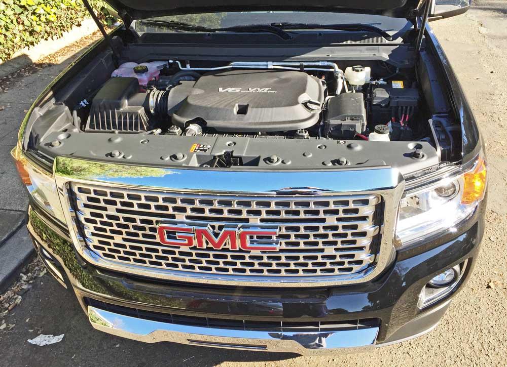 gmc canyon 5 cylinder manual 2wd