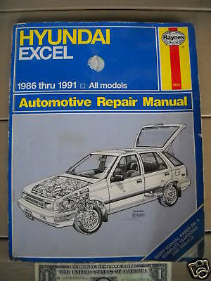 hyundai excel 99 repair manual