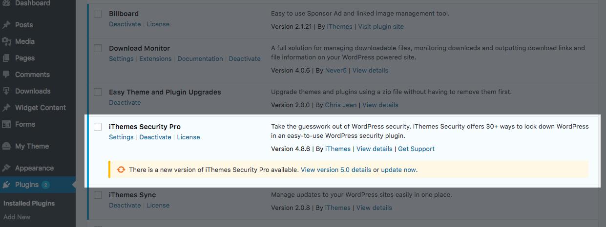 joomla check plugin that need manual updating