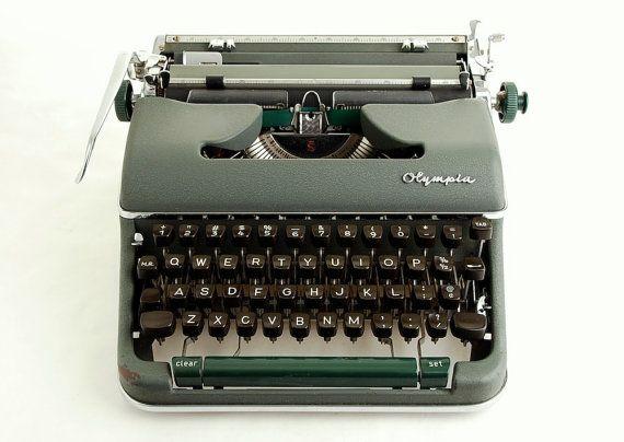 olympia sm4 s manual typewriter