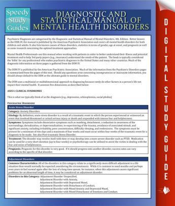 publishes the diagnostic and statistical manual of mental disorders