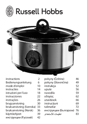 russell hobbs slow cooker 13792 instruction manual