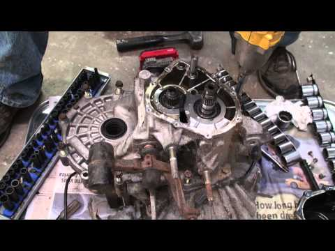toyota matrix manual input bearing replacement