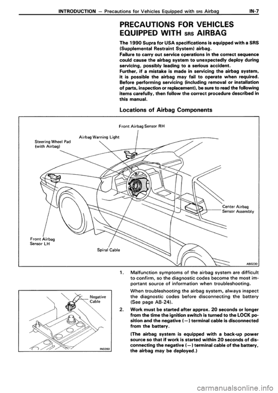 toyota supra workshop manual pdf