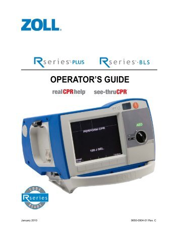 zoll r series plus service manual